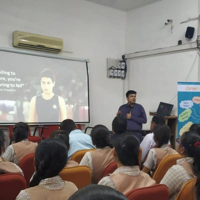 Career Convention at Hindi High School, Rajasthan