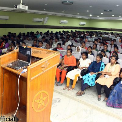Career Convention at Sathyabama Institute of Science Technology