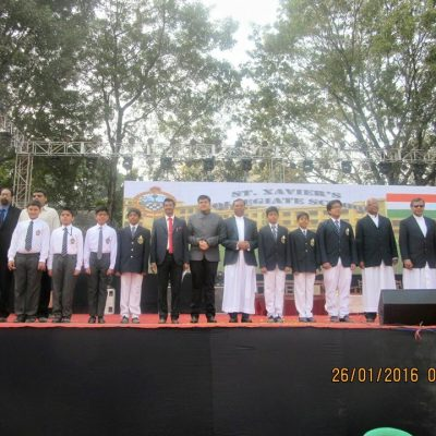 Chief Guest at Republic Day Celebration at SXCS, Kolkata