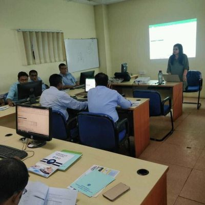 Training at GRSE, Kolkata